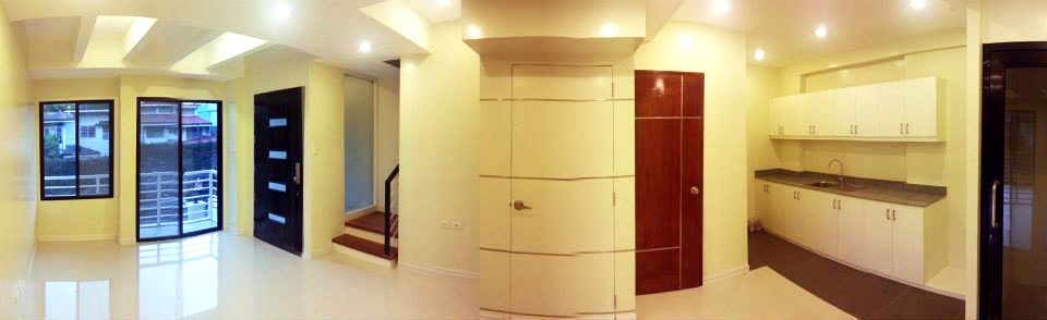 Panoramic View of 1st Floor Phase 1 Townhouse