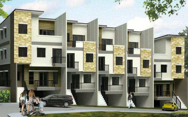 Townhouse for Sale in San Juan Phase I Exterior Perspectives