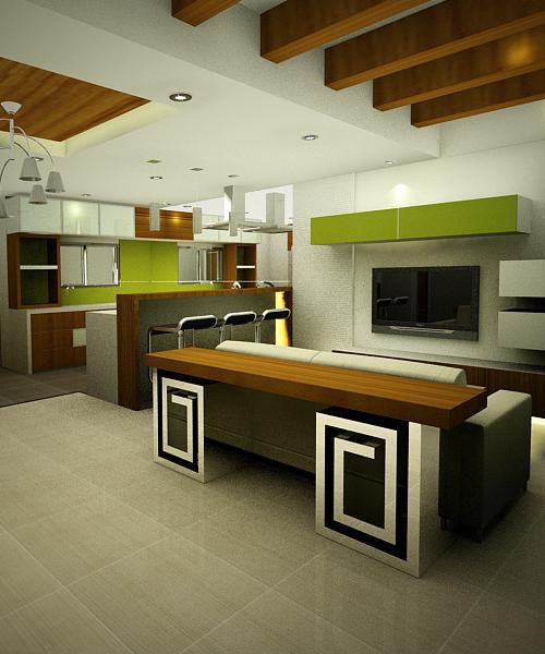 Townhouse Phase 1 Kitchen Area – Al-Khor San Juan