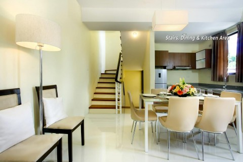 Al-Khor Phase 2 dining area stairs kitchen