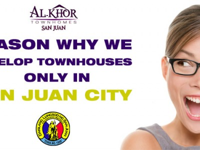 Why Al-Khor Townhomes choose to develop only in San Juan