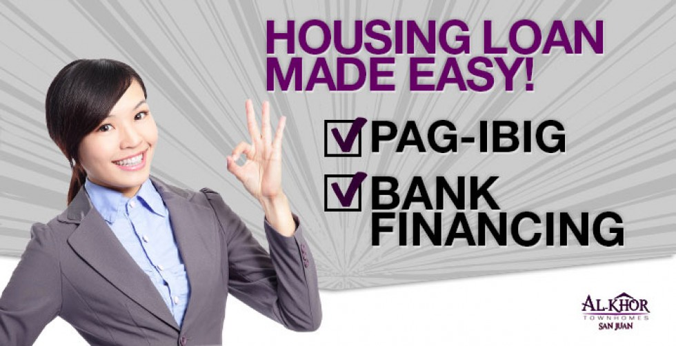 Bank Financing Housing Loan Made Easy – INFOGRAPHICS