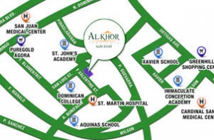 alkhor san juan landmark map