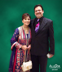 Mrs.Edith Alba-Khorakiwala and Mr.Taizoon Khorakiwala
