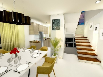 Dining Kitchen – Phase 2 Artist Perspective