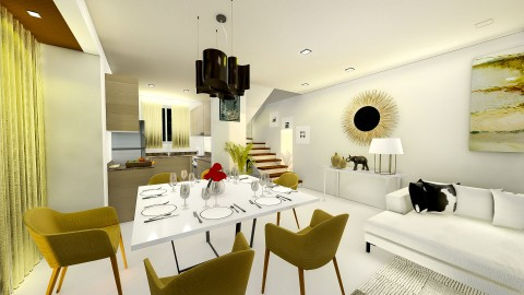 Dining Kitchen 2 – Phase 2 Artist Perspective