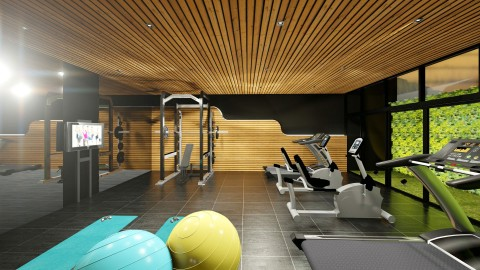 Clubhouse Gym – Phase 2 Artist Perspective