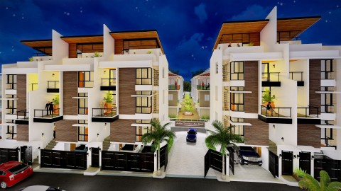 Front View San Luis Cluster – Phase 2 Artist Perspective