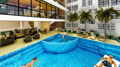 Clubhouse Swimming Pool – Phase 2 Artist Perspective
