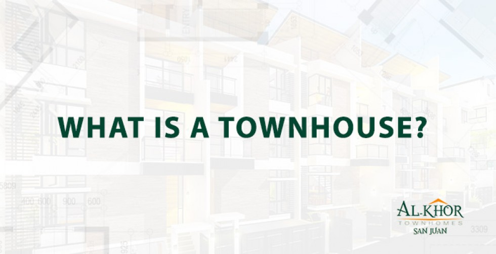 What is a townhouse