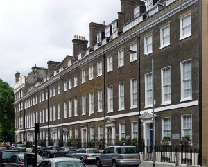 18th century London Townhouses